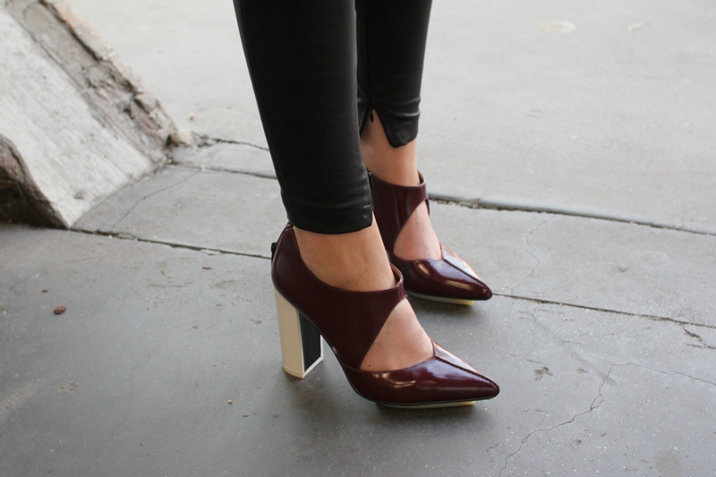 phillip lim heels shoes streetstyle fashion blog mademoiselle MBFWA