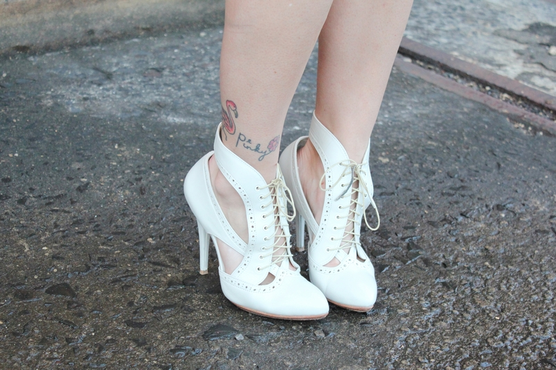 lace up booties shoes streetstyle fashion blog mademoiselle MBFWA