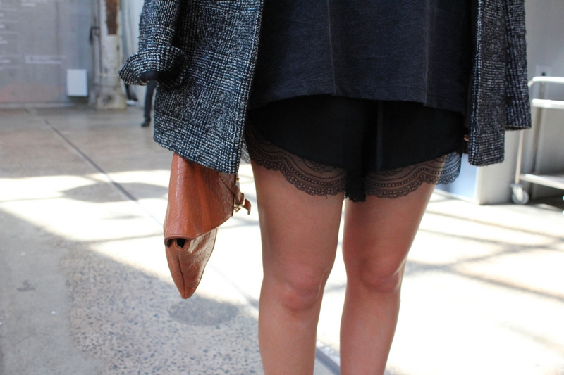lover the label susien chong love knot lace shorts streetstyle mbfwa sydney fashion week blog mademoiselle