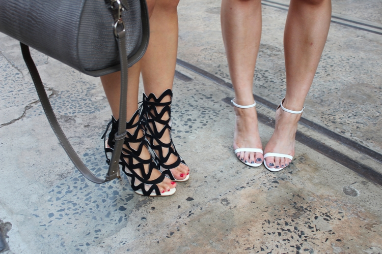 MBFWA sydney streetstyle lobster shoes