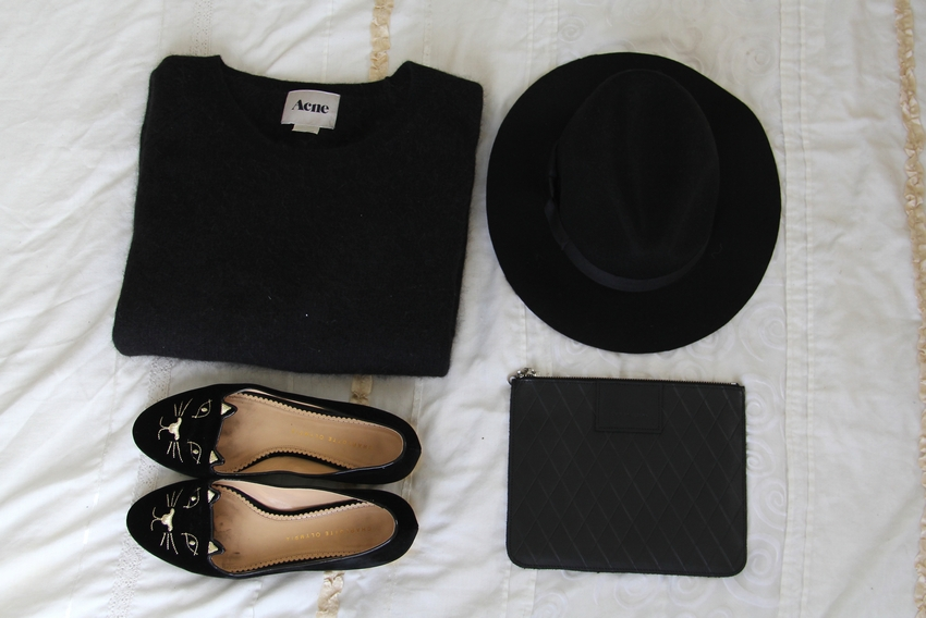 acne mohair lack of color akubra kitty flats