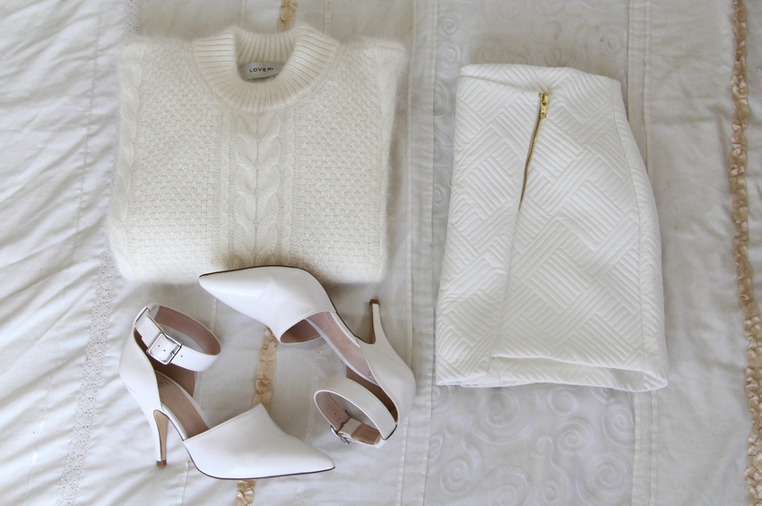 lover angora sweater faith chanell heels