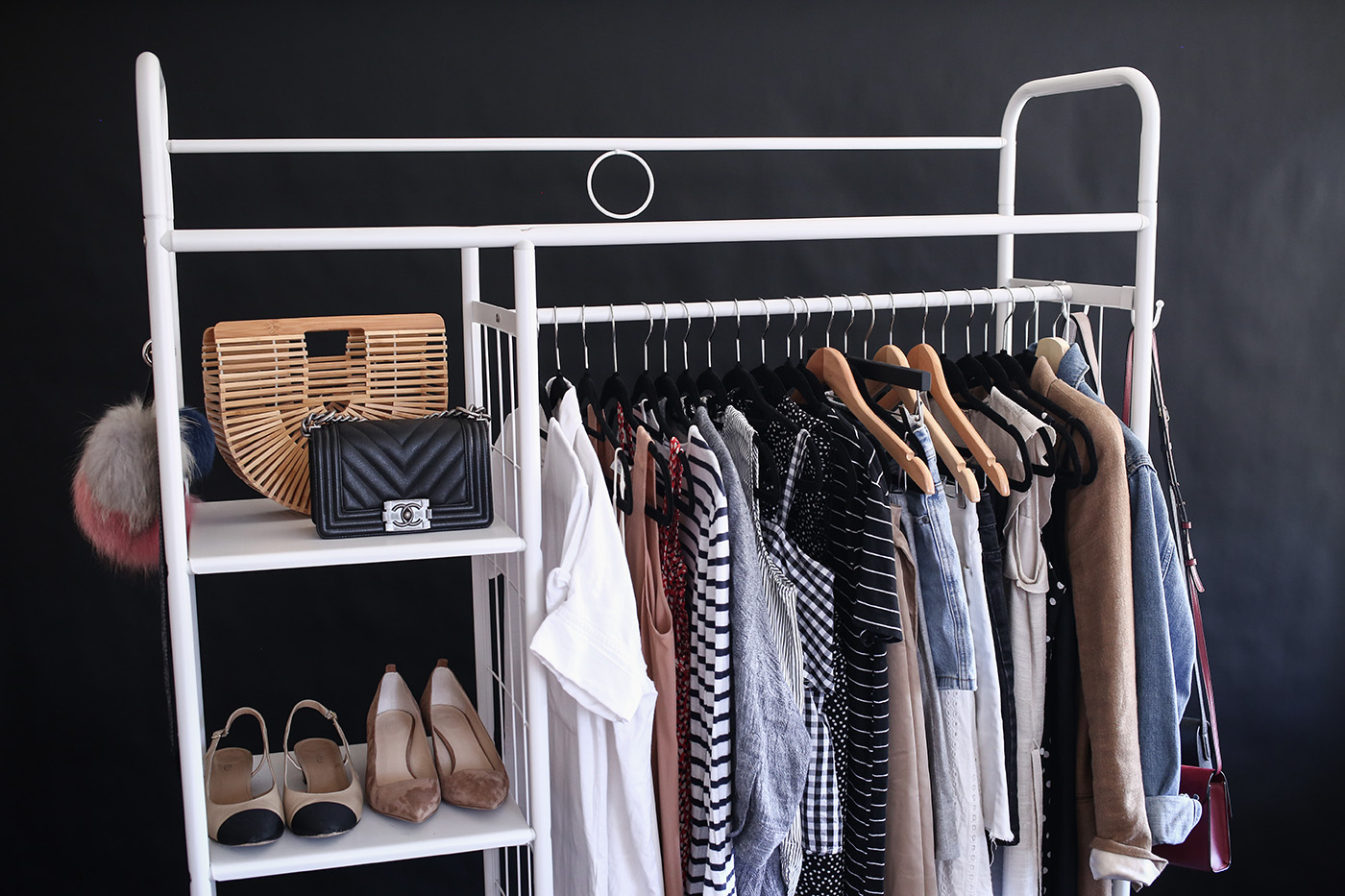 30x30 capsule wardrobe spring summer outfits