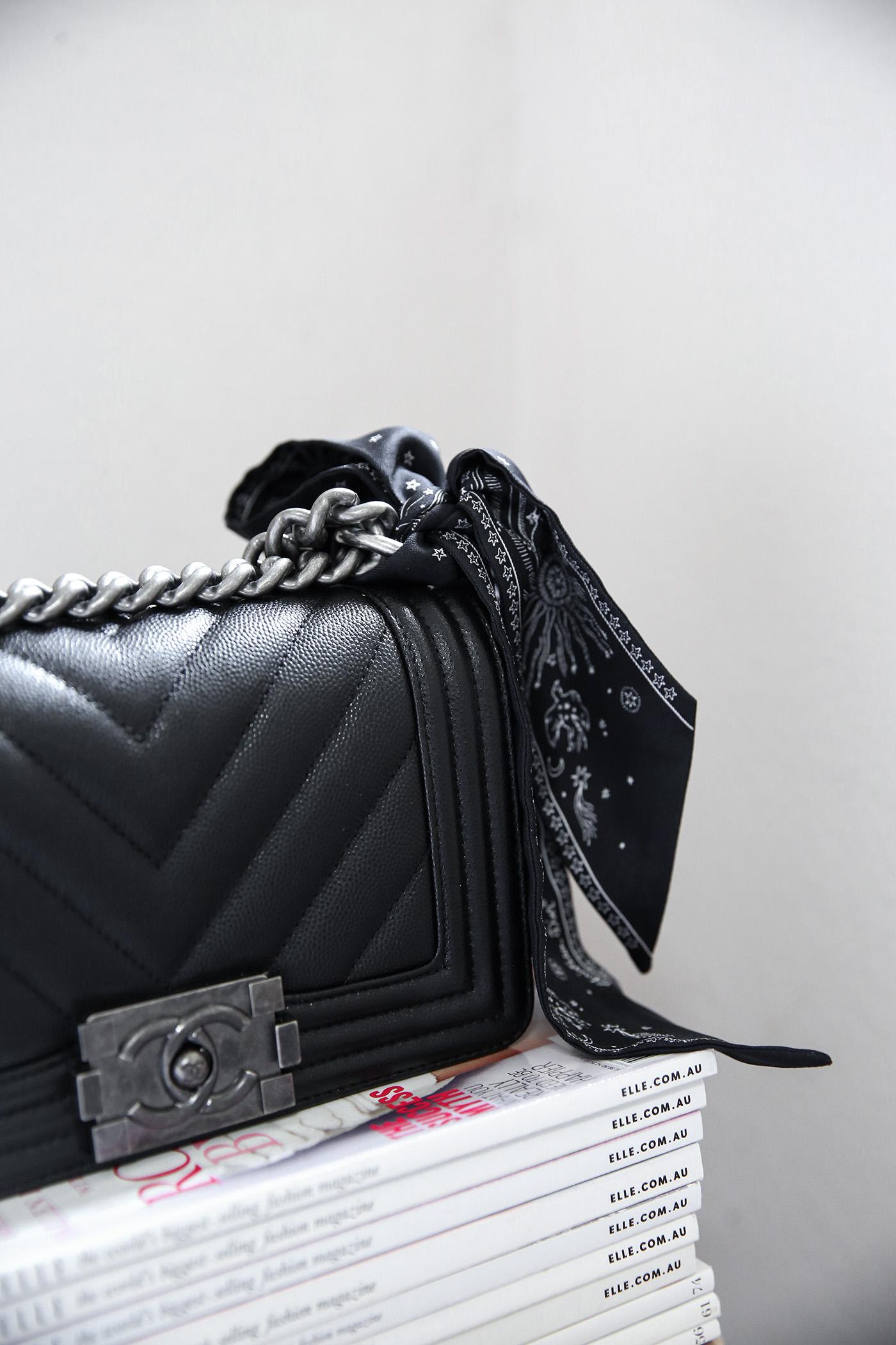 1b662187a57a5f My First Chanel Bag | Mademoiselle | A Minimalist Fashion Blog