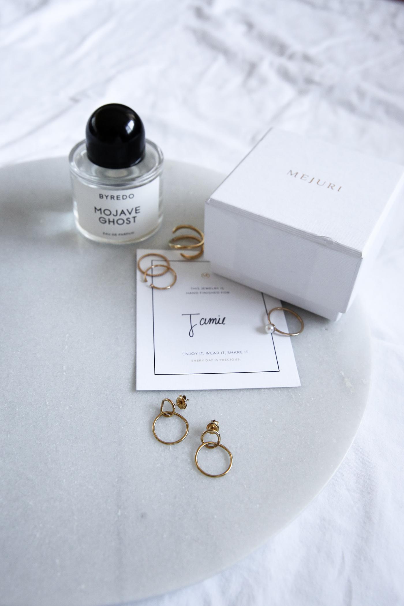 mademoiselle mejuri loop earrings
