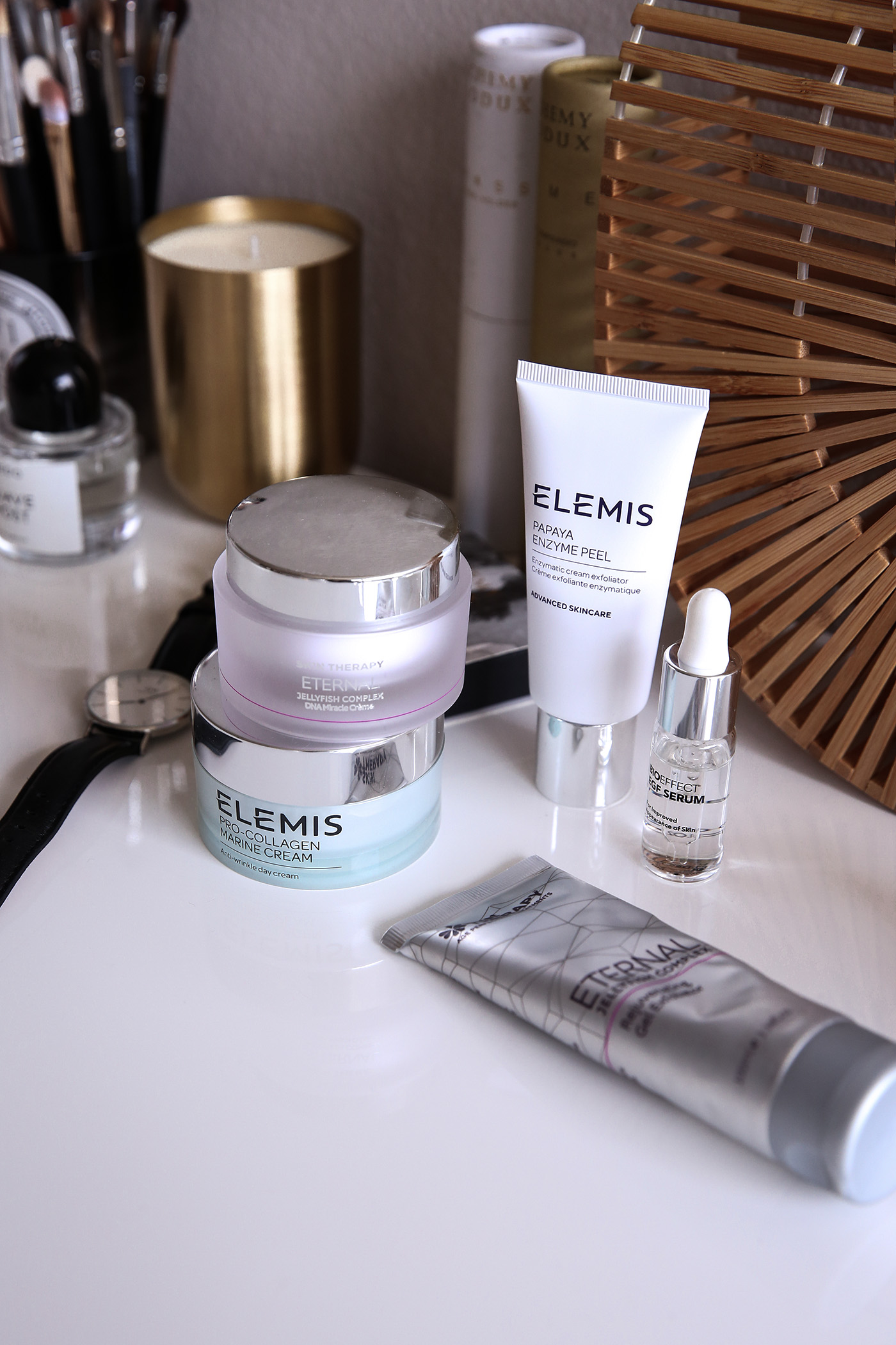 luxury skincare products summer