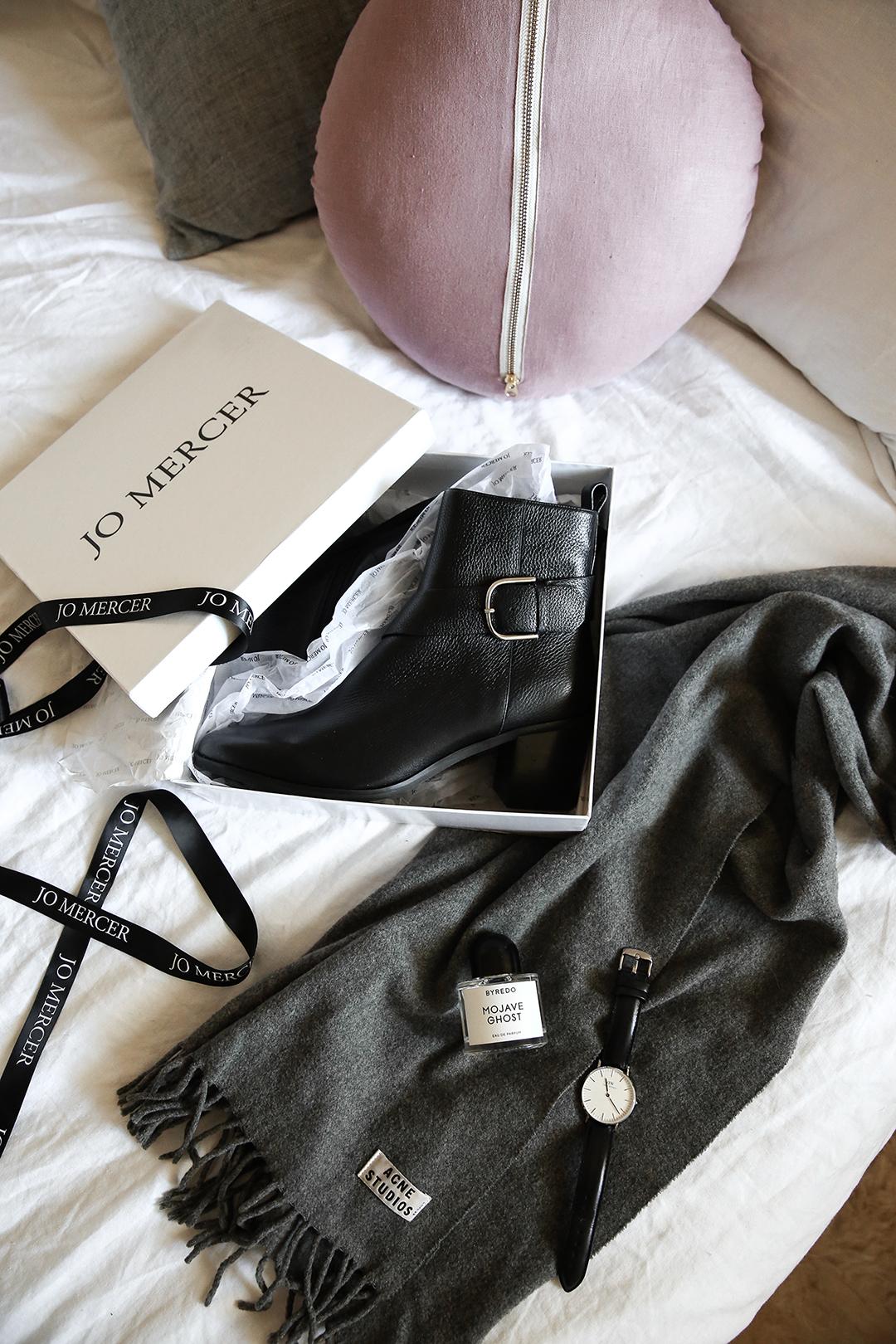 autumn wardrobe essential black boots