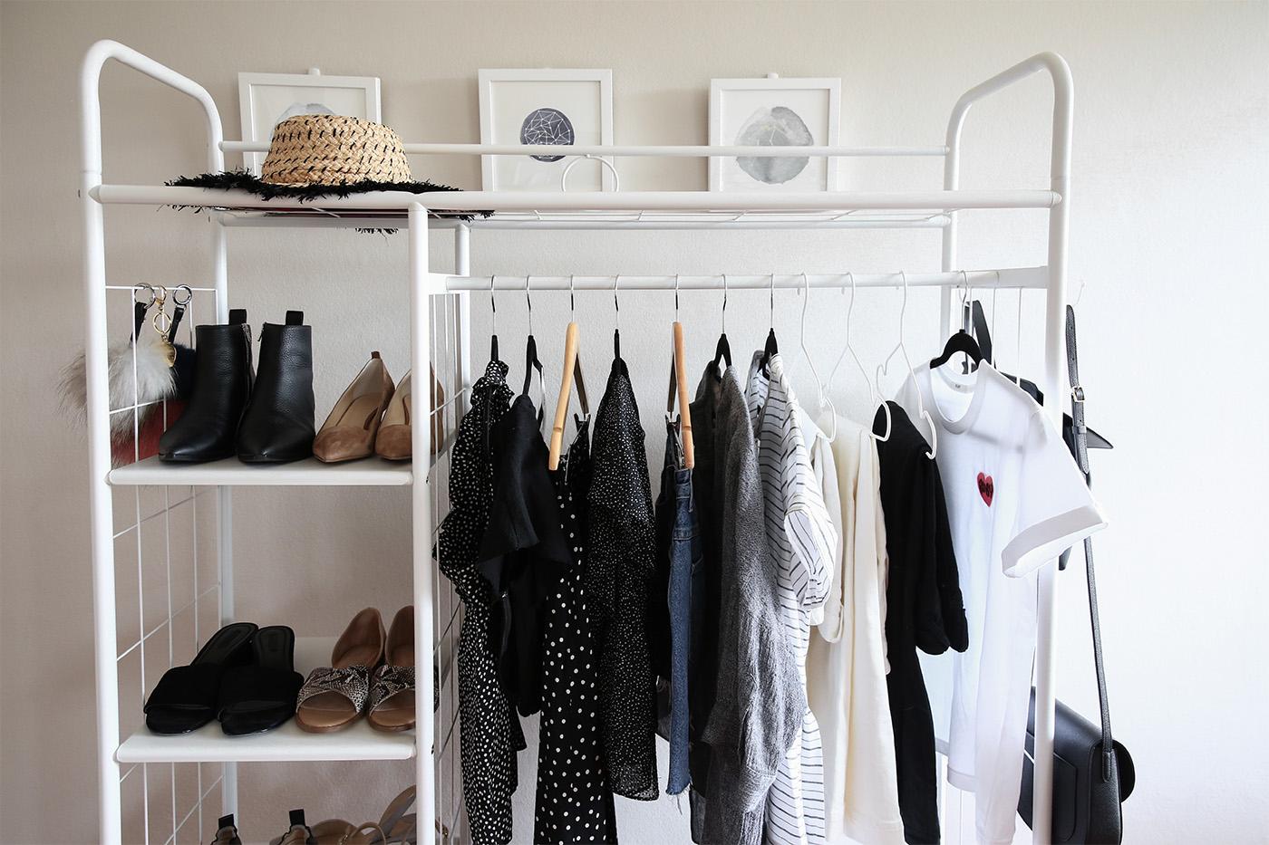 new wardrobe additions minimal style