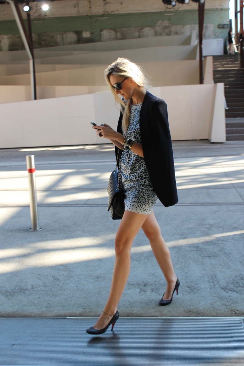 MBFWA streetstyle chanel bag monochrome