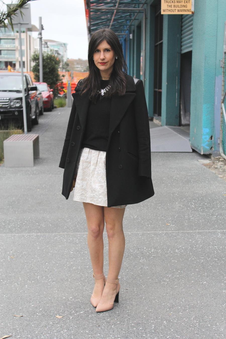 NZFW streetstyle karen walker marni heels