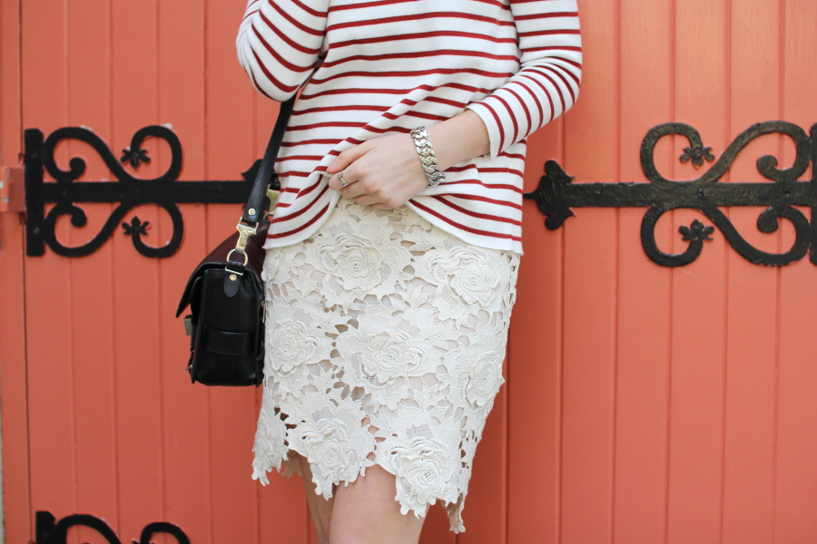 lover 3d star lace skirt