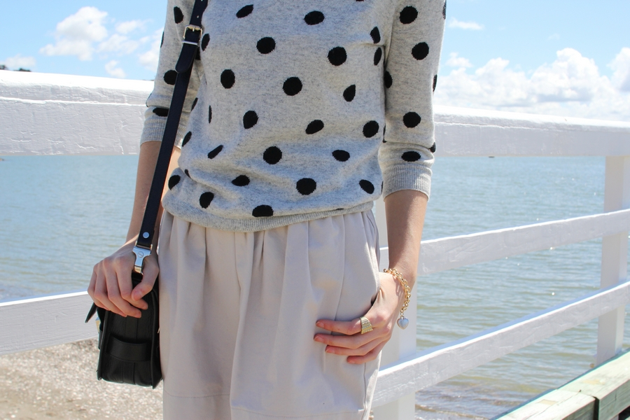 polka dot karen walker