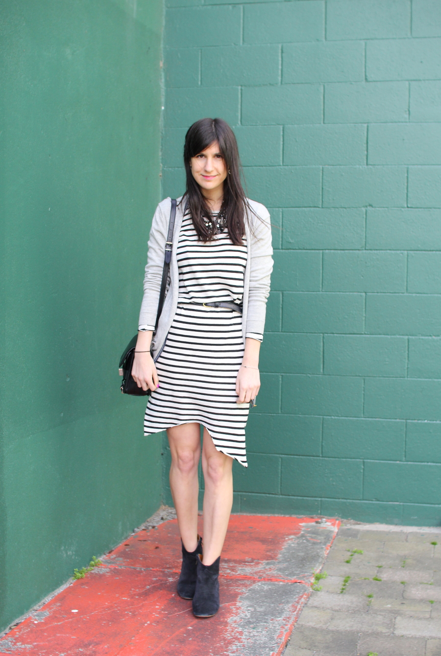 bassike stripe dress
