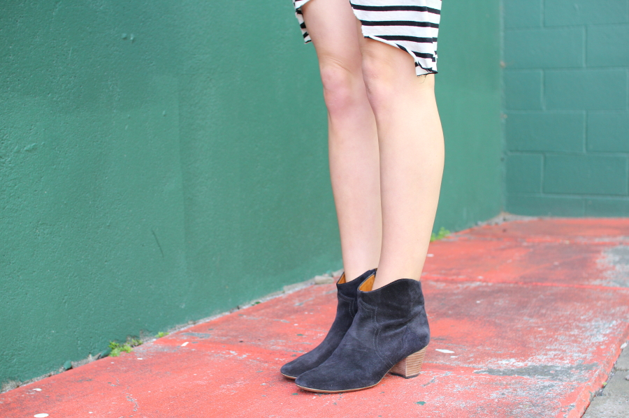 isabel marant dicker boots anthracite