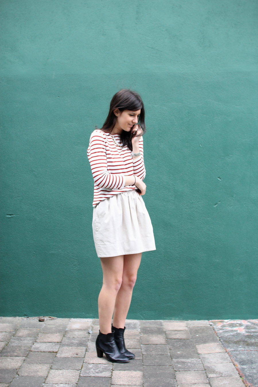 zara breton stripe mademoiselle