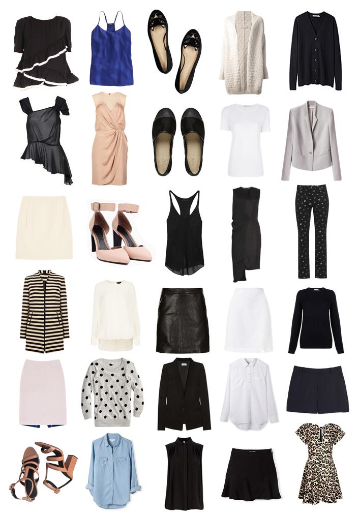 30x30 wardrobe challenge mademoiselle