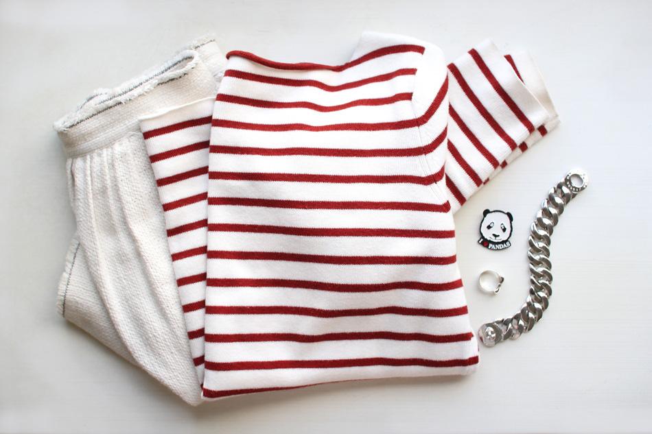 zara breton stripe knit twenty seven names panda