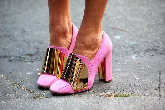winter wardrobe street style petal pink accents