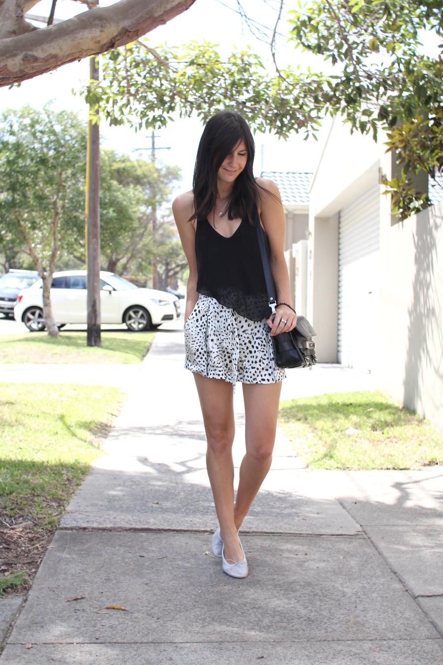 lover susien chong cheetah silk shorts