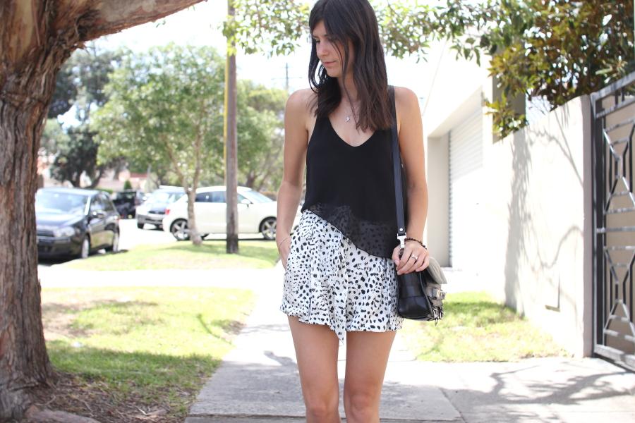 lover susien chong cheetah silk shorts proenza schouler ps11