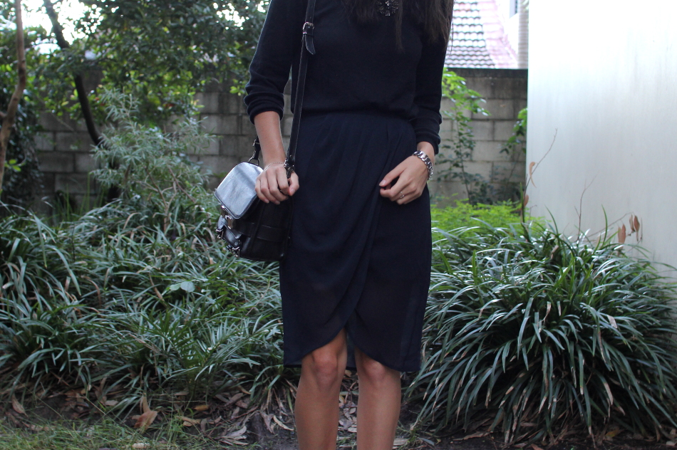 Finders Keepers drape skirt Proenza schouler ps11