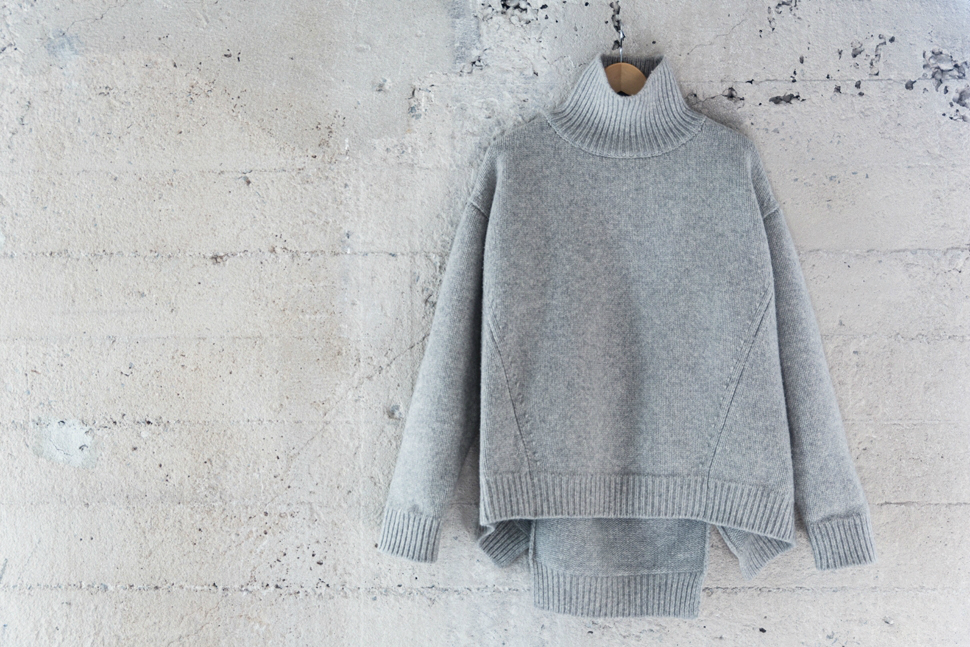 celine grey knit sweater
