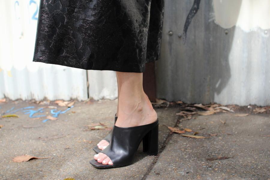 MBFWA natalie cantell model street style fashion week australia zara mules
