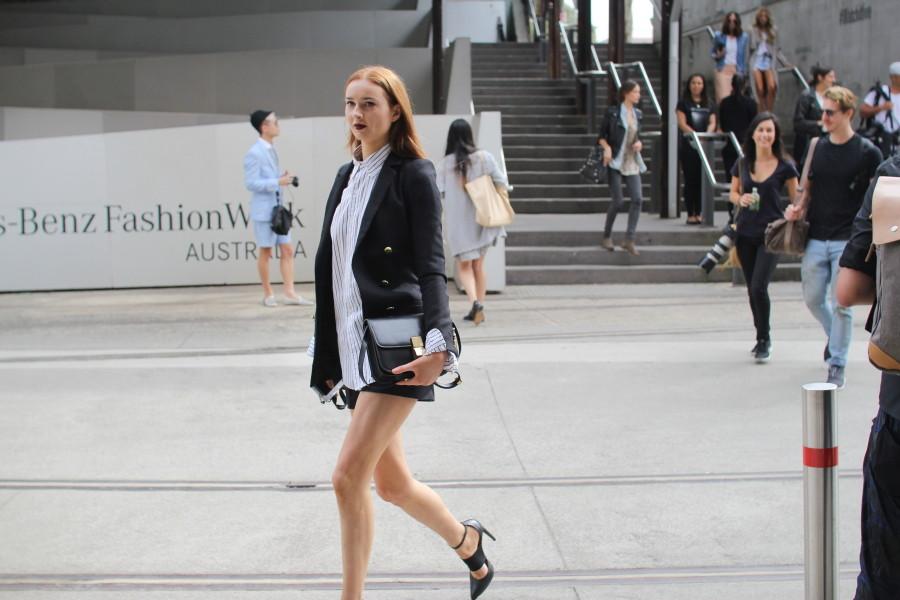 MBFWA fashion week street style sydney minimal simplicity