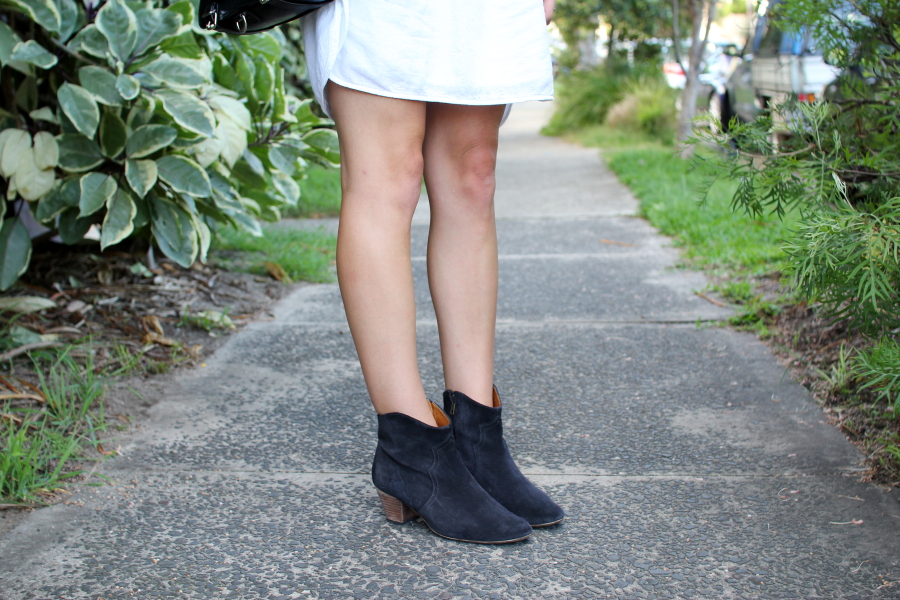isabel marant anthracite suede dicker boots