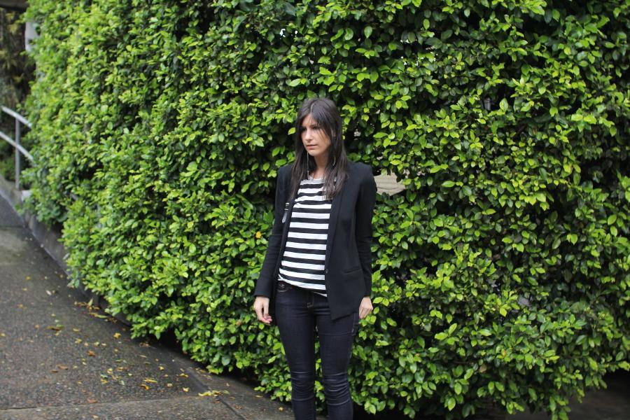 frame denim skinny jeans helmut lang blazer