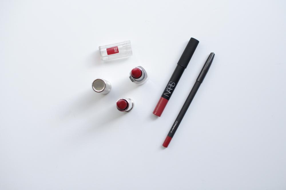 clinique long last lipstick nars mac lip pencil