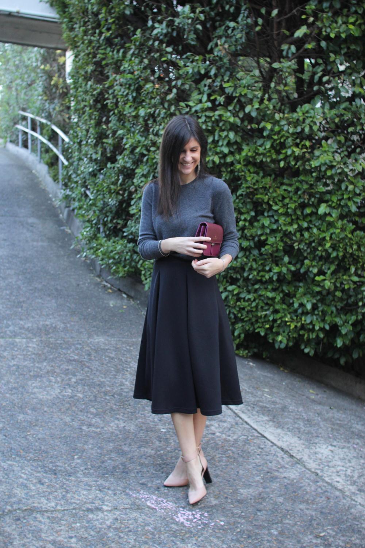 midi skirt ladylike trend