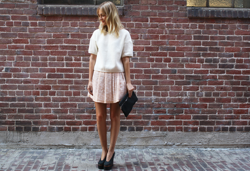 streetsyle neutral palette acne heels
