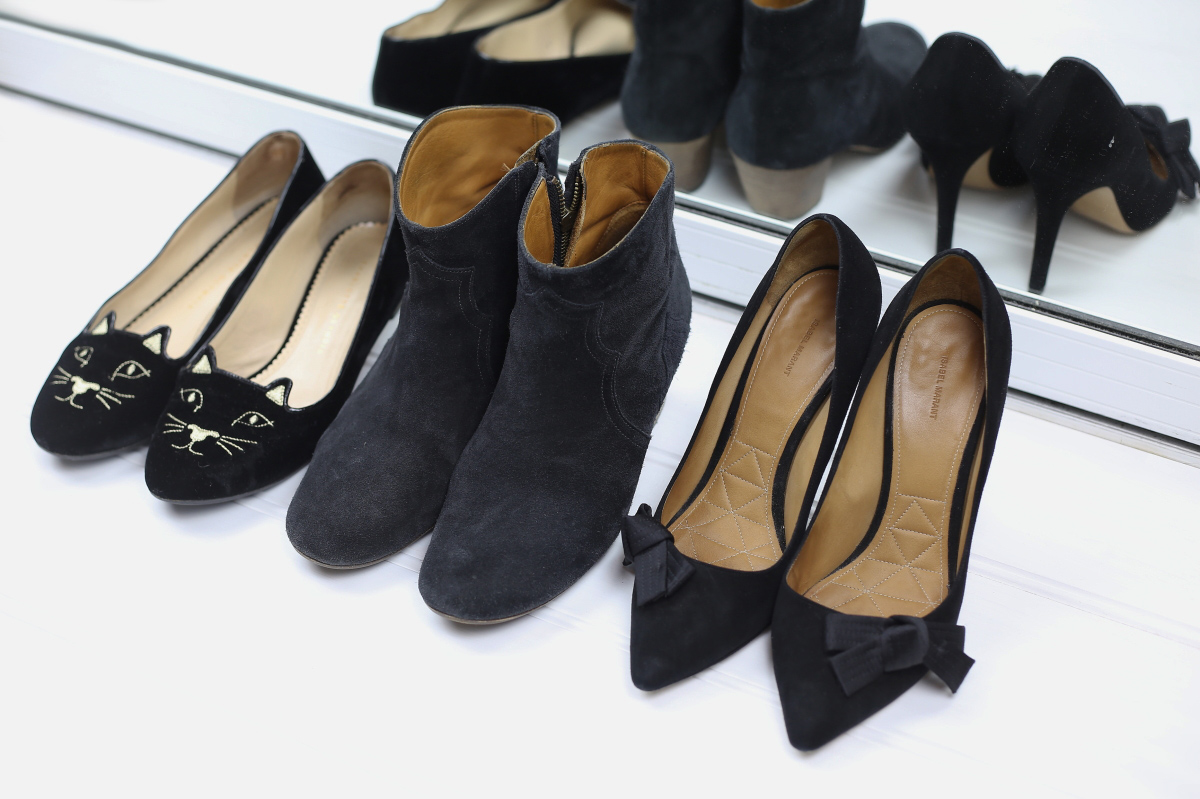 wardrobe normal size shoes charlotte olympia isabel marant