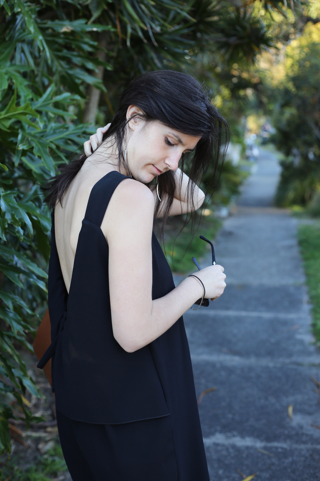 little black dress karen walker take change dress