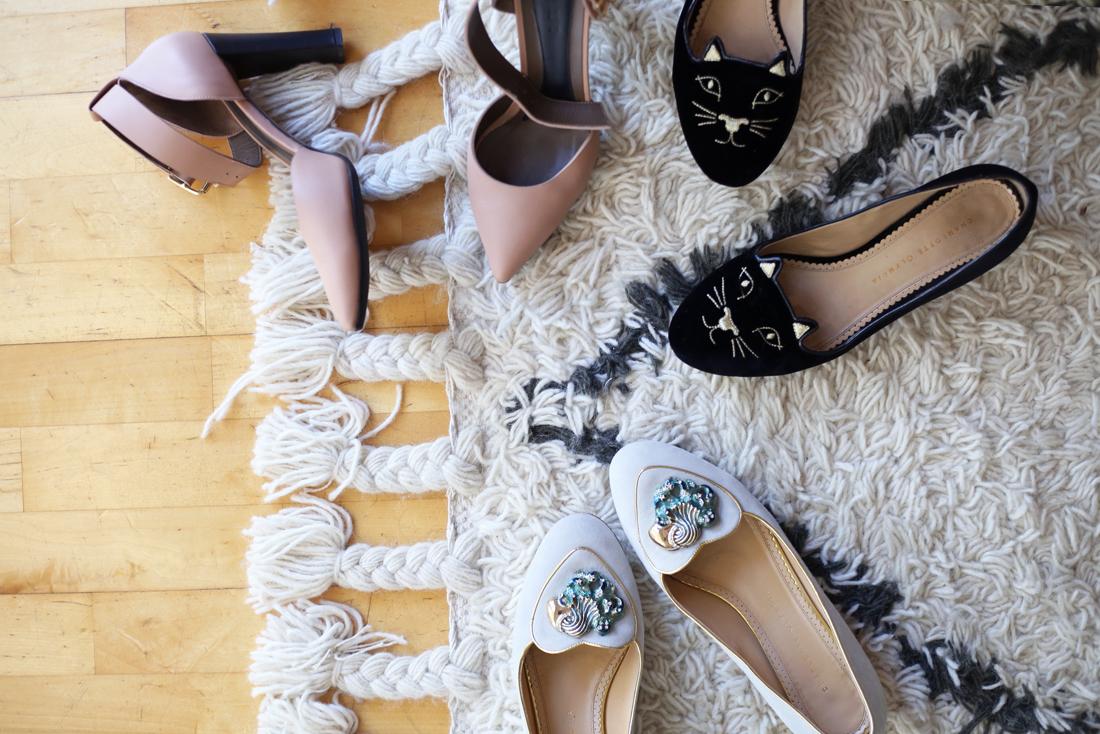 charlotte olympia kitty flats aquarius marni heels