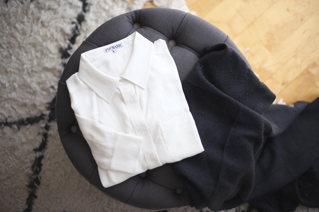 pop basic milk blouse kickstarter project
