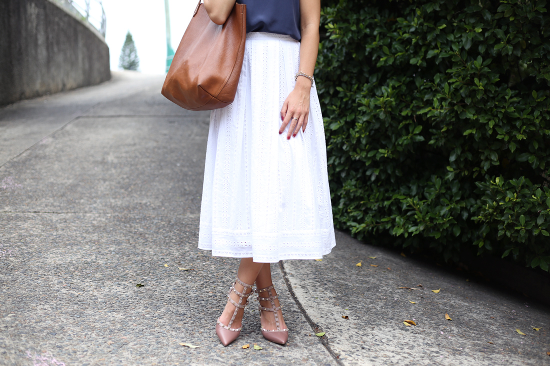 lover the label jupiter broderie lace midi skirt everlane silk cami