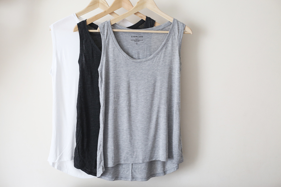everlane ryan slouchy tank muscle tank review