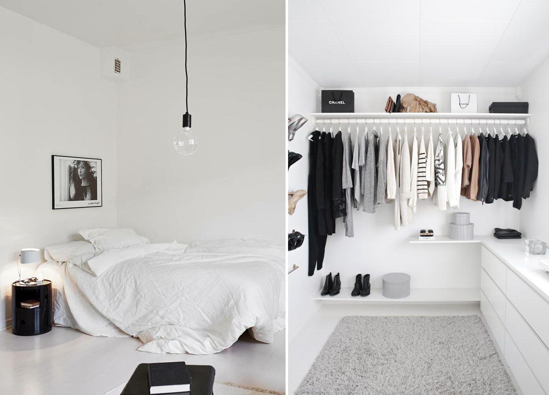 crisp white minimal scandinavian interiors
