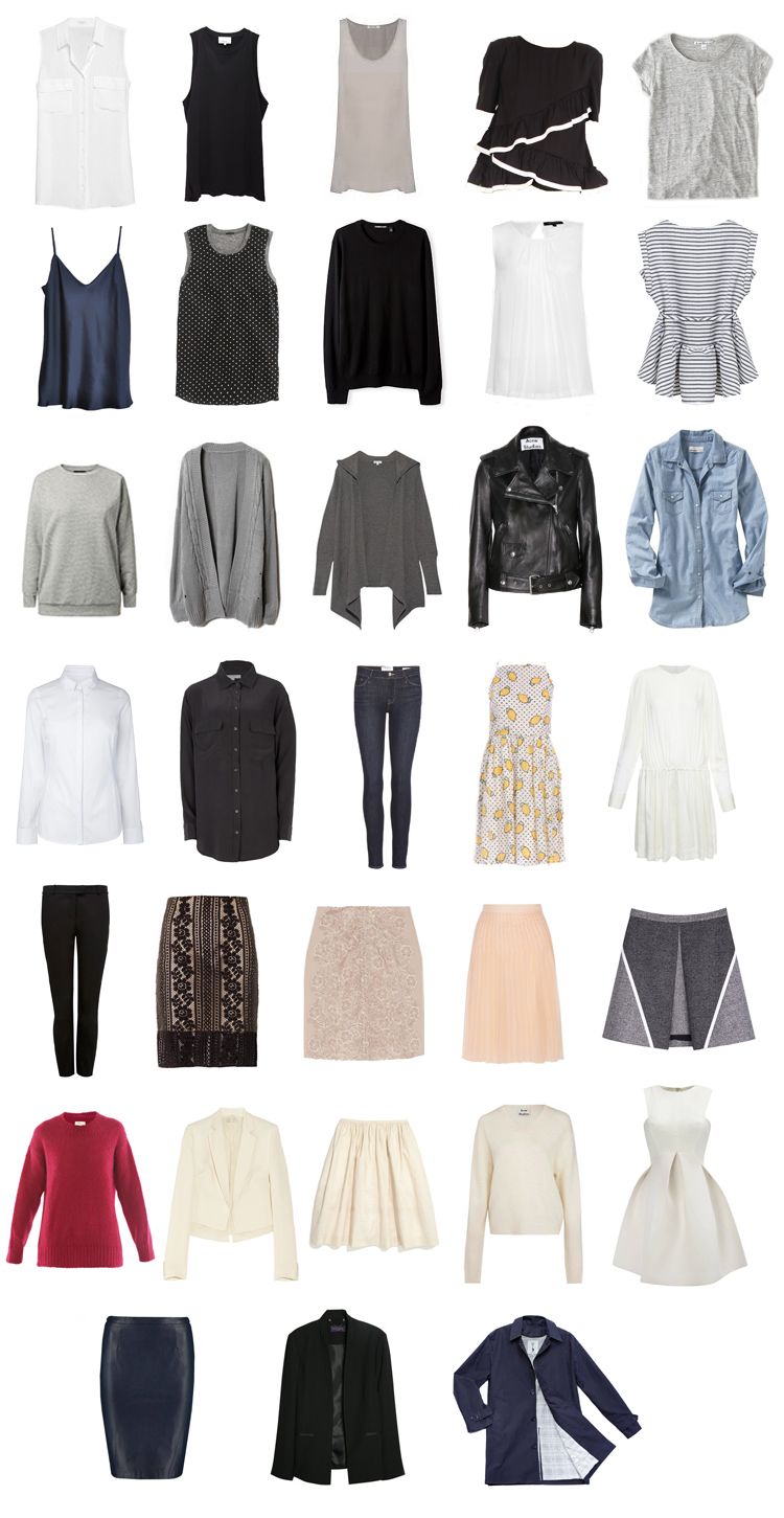 Project 333 A Fall Capsule Wardrobe Mademoiselle A Minimalist Fashion Blog