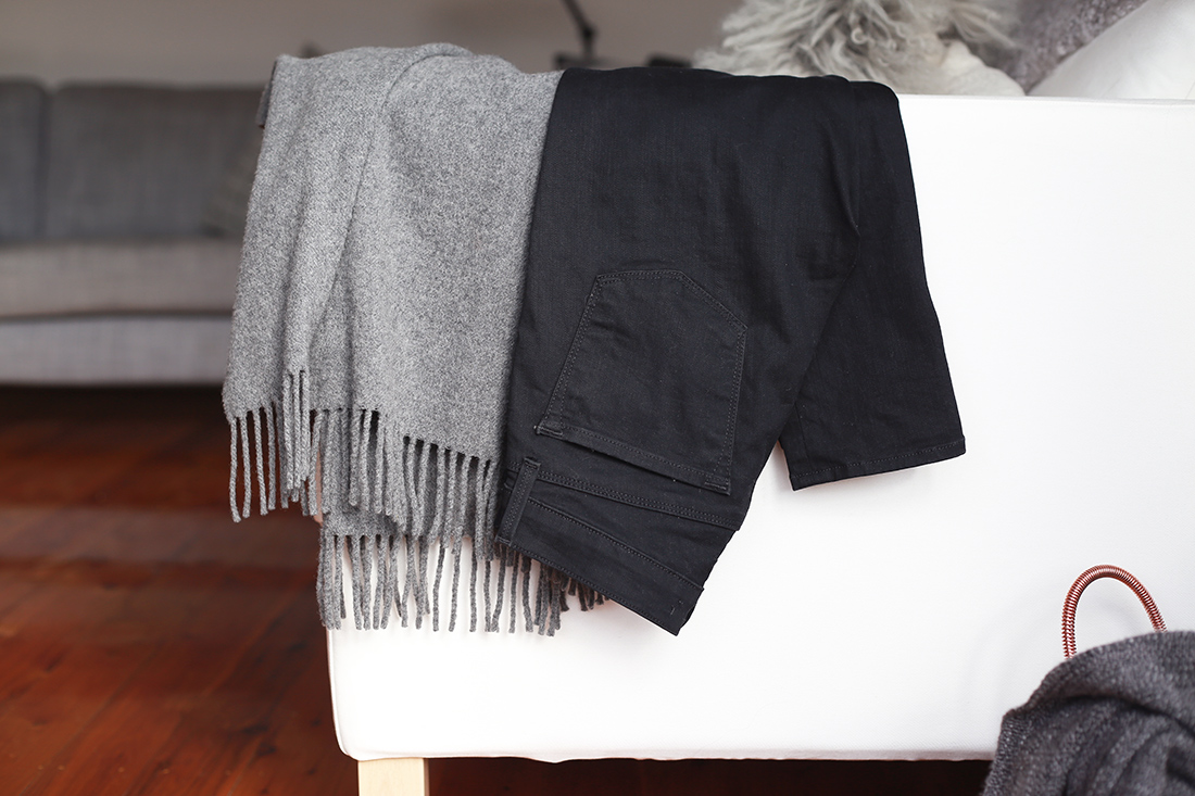 acne studios canada scarf j brand superskinny jeans minimal style