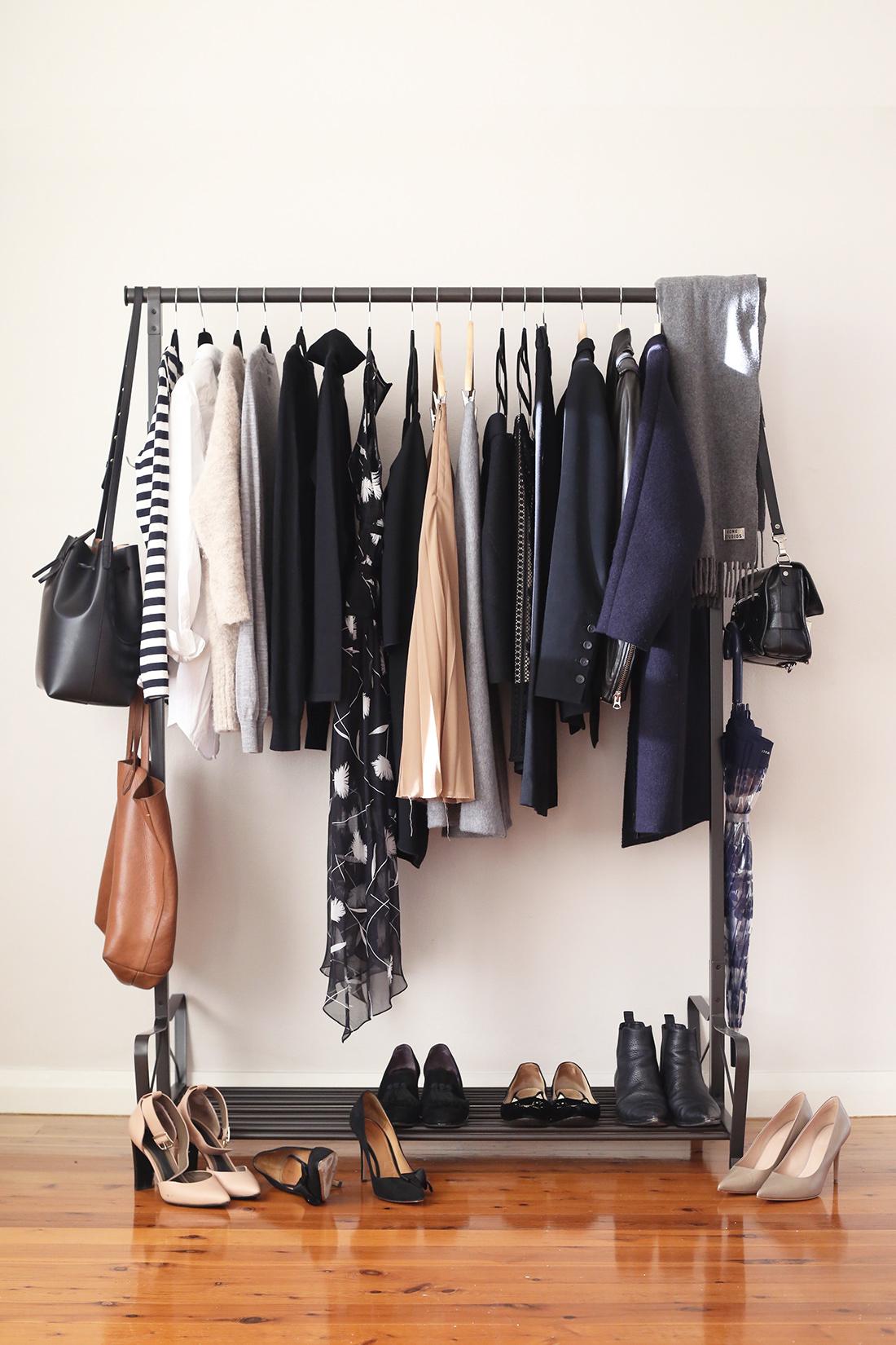 Minimalist Fashion Blog Closet Organization Home Decor
