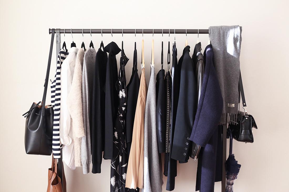 minimal capsule wardrobe scandinavian style