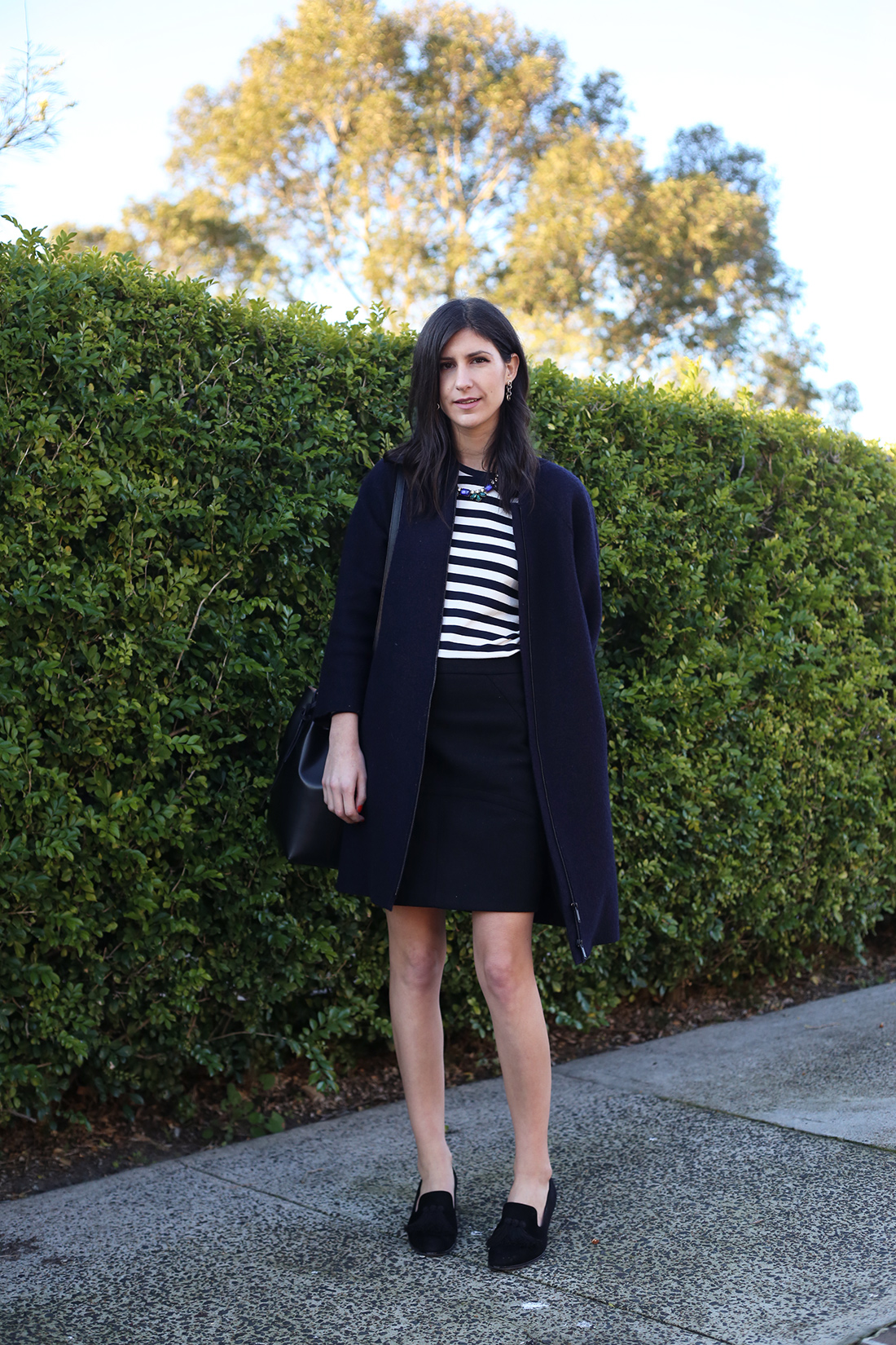 country road stripe monsieur gavriel happiness boutique