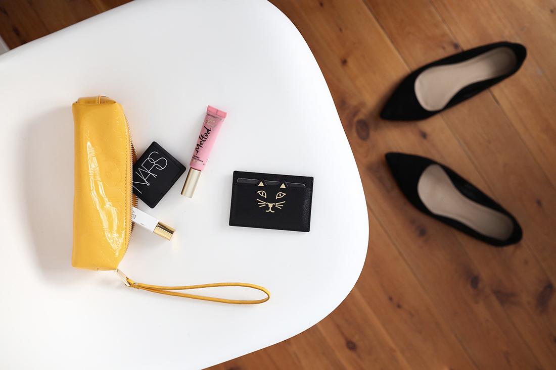 charlotte olympia kitty card case karen walker cosmetics
