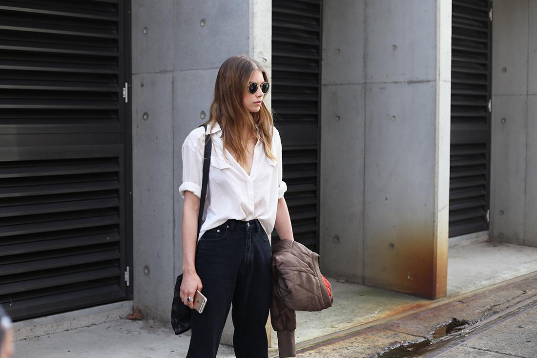 MBFWA sydney australia street style models off duty