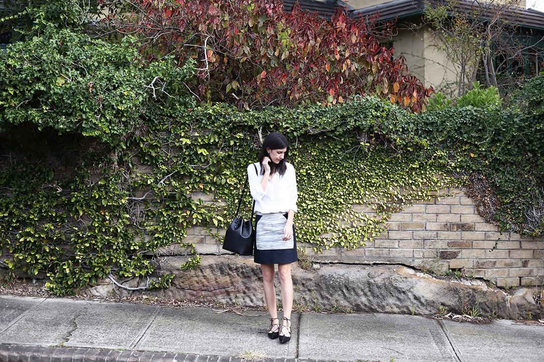 outfit equipment silk phillip lim mansur gavriel ghillie flats