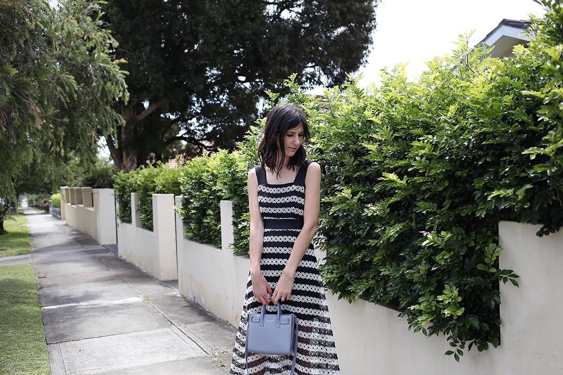 asos lace stripe dress teddyblake carla nano