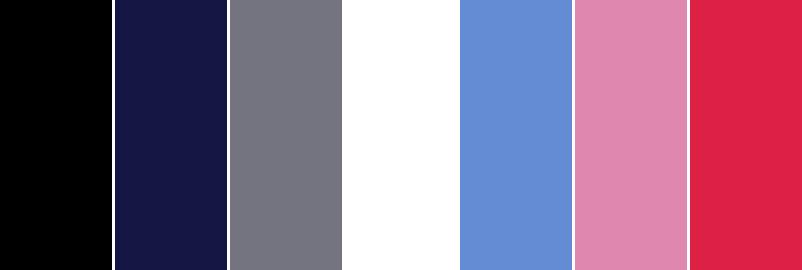 wardrobe minimal capsule colour palette